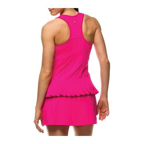Women's Fila Lawn Tennis Club Tank Pink Glo