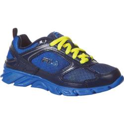 Children's Fila Stride 3 Fila Navy/Prince Blue/Safety Yellow