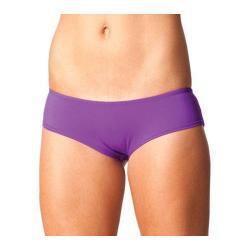 Women's Forplay Mini Solid Booty Short Purple