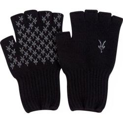 Ibex Knitty Gritty Fingerless Wool Glove Black