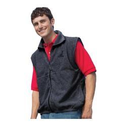 Men's Inner Harbor Full Zip Vest Fleece Charcoal