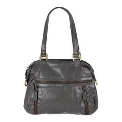 Women's Latico Hazel Gathered Shoulder Bag 7605 Slate Leather