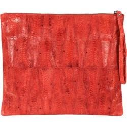 Women's Latico Lida iPad Case 5313 Red Leather