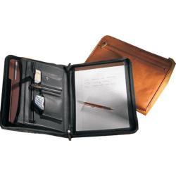 Millennium Leather Vaqueta Padfolio Black Vaqueta Napa