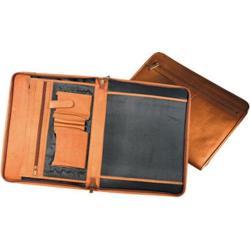 Millennium Leather Vaqueta Padfolio Tan Vaqueta Napa