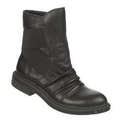 Women's Naya Retro Black Leather