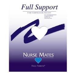 Women's Nurse Mates Firm Compression Hosiery (3 Pairs) White
