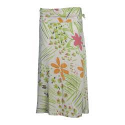 Women's Ojai Clothing Riviera Skirt White/Lime Floral