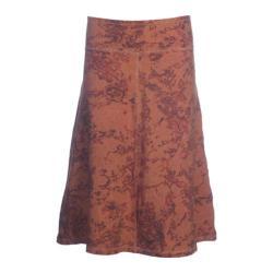Women's Ojai Clothing Tribal Skirt Orange