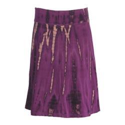 Women's Ojai Clothing Tribal Skirt Orchid