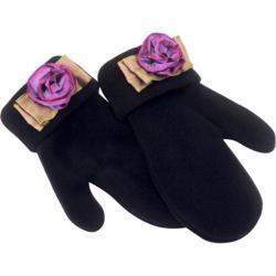 Women's Pantropic Aspen Mittens Black