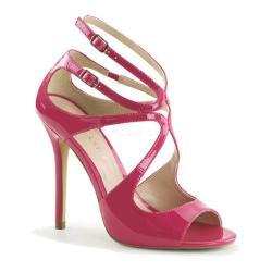 Women's Pleaser Amuse 15 Hot Pink Patent