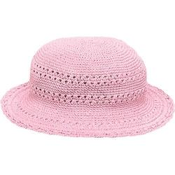 Girls' San Diego Hat Company Cotton Crochet Hat CHL9 Pink
