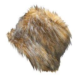 Women's San Diego Hat Company Faux Fur Bucket CTH3422 Camel