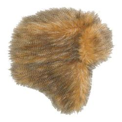 Women's San Diego Hat Company Faux Fur Trapper CTH3424 Camel