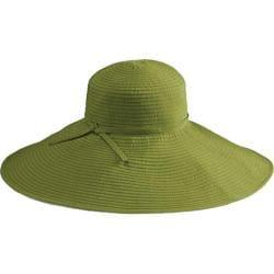 Women's San Diego Hat Company Ribbon Braid Xl Brim Hat RBXl202 Avocado