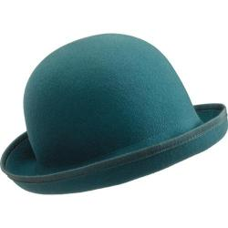 Women's San Diego Hat Company Way Felt Hat WFH7806 Emerald