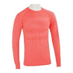 Men's Skechers Pacific Seamless First Layer Long Sleeve Tee Shirt Red