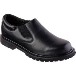 Men's Skechers Relaxed Fit Cottonwood Goddard SR Black