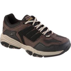 Men's Skechers Relaxed Fit Cross Court TR Brown/Black