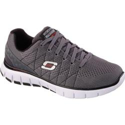 Men's Skechers Relaxed Fit Skech-Flex Charcoal/Black