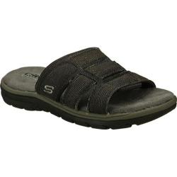 Men's Skechers Relaxed Fit Supreme Glade Black