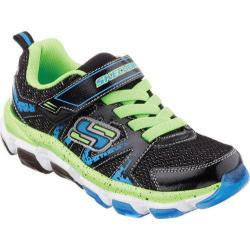 Boys' Skechers X-Cellorator 2.0 Black/Blue/Lime