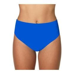 Women's Sunsets Seamless High Waist Tile Blue