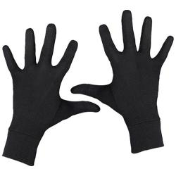 Terramar Interlock Silk Glove Liner Black