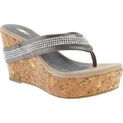 Women's Volatile Kala Pearlized Pewter Leather