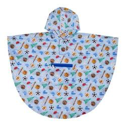 Boys' Wildkin Poncho Game On