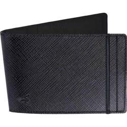 Men's Wurkin Stiffs RFID Money Clip Wallet Black/Black