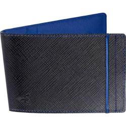 Men's Wurkin Stiffs RFID Money Clip Wallet Black/Blue