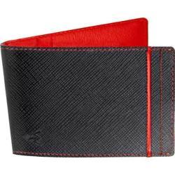 Men's Wurkin Stiffs RFID Money Clip Wallet Black/Red