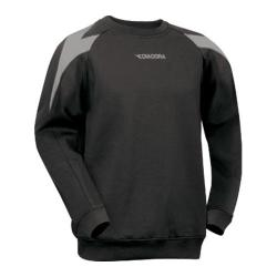 Boys' Diadora Chevron Crew Sweatshirt Black