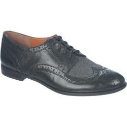 Women's Franco Sarto Trace Black Leather/Grey Synthetic/Safari Crust /Flannel