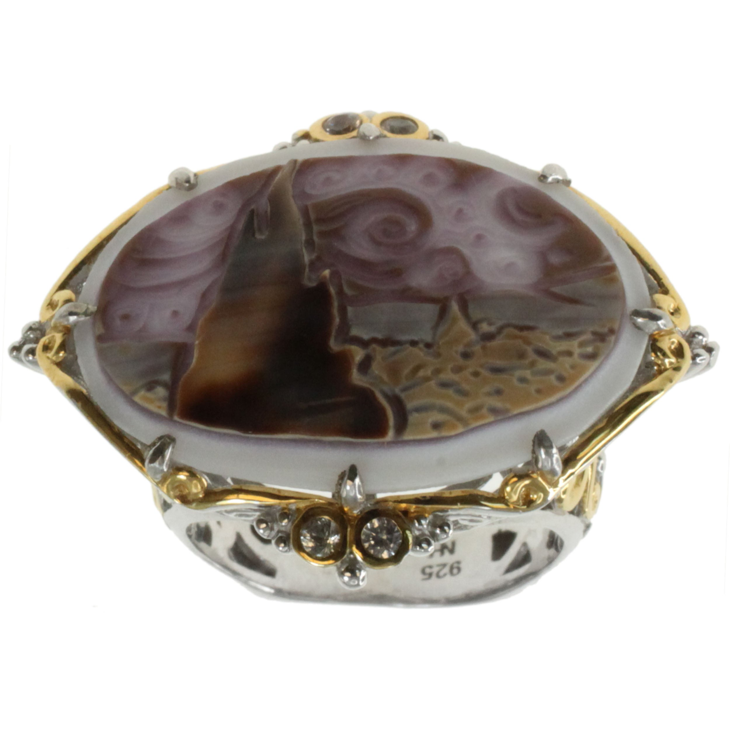 Michael Valitutti Cameo Ring