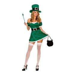 Women's Dreamgirl Sexy St. Patrick's Day Costume Sexy St. Patrick's Day