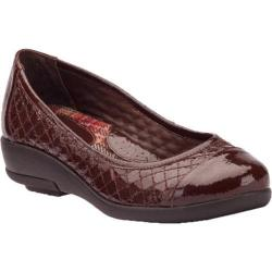 Women's Gravity Defyer Genevy Brown Patent