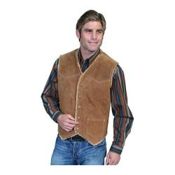 Men's Scully Leather Boar Suede Hunting Vest 82 Cafe Brown