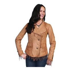 Women's Scully Leather Soft Lamb Jacket L954 Ranch Tan