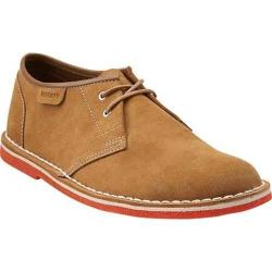 Men's Clarks Jink Oakwood Suede/Orange Crepe