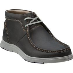 Men's Clarks Milloy Mid Black Leather