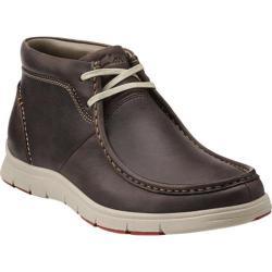 Men's Clarks Milloy Mid Dark Brown Leather