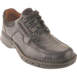 Men's Clarks Un.Bend Black Leather