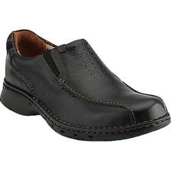 Men's Clarks Un.Seal Black Leather
