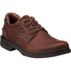 Men's Clarks Wave.Center Tie Brown Leather