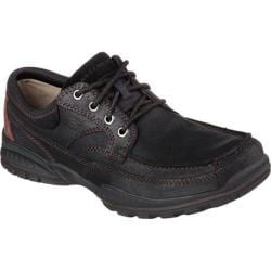 Men's Skechers Relaxed Fit Vorlez Lington Black