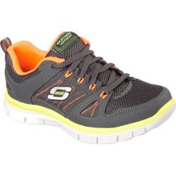 Boys' Skechers Flex Advantage Gray/Orange