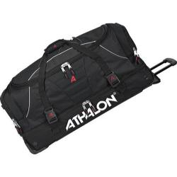 Athalon Black 32-inch Drop Bottom Rolling Equipment Duffel Bag